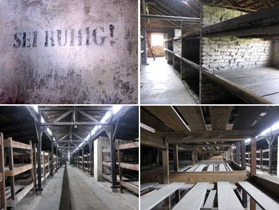 Auschwitz Birkenau: Baracche