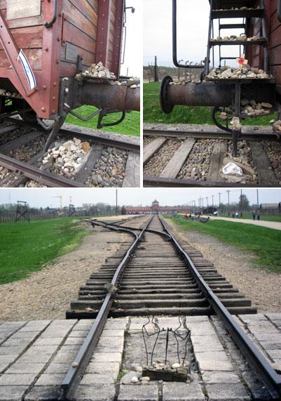 Auschwitz Birkenau: i binari