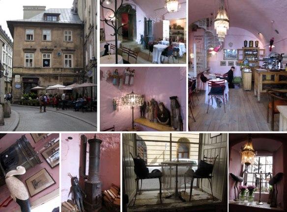 Café Camelot a Cracovia