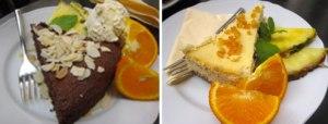 Torte al Café Camelot a Cracovia