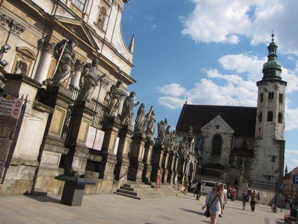 Cracovia: SS. Pietro e Paolo e S. Andrea e
