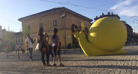 Piazza XXIV Maggio - Lumache