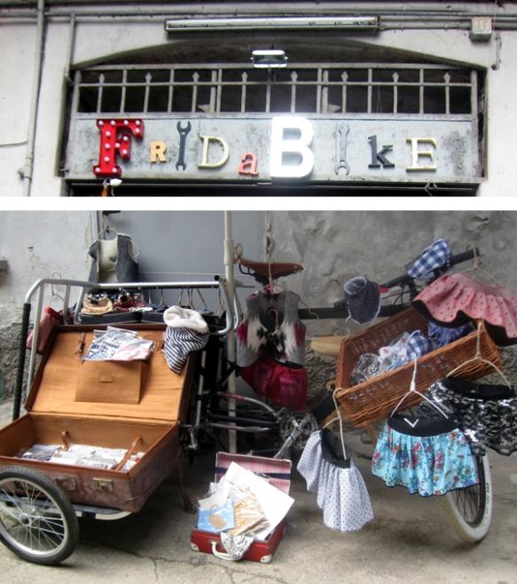 Fridabike - Pulci di ringhiera