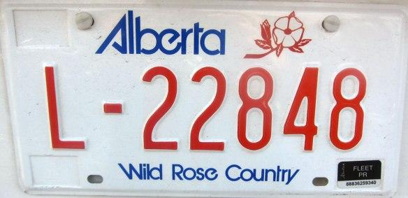Alberta - Wild Rose Country