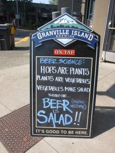 Vancouver Granville Island - Brewing