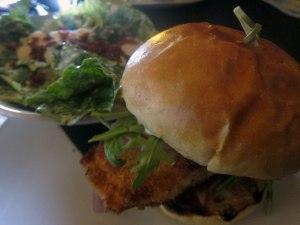 Canmore - Hamburger di salmone al Wood