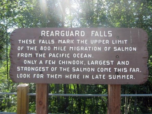 Canada - Rearguard Falls