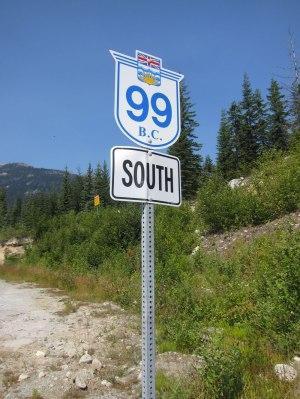 British Columbia - Statale 99