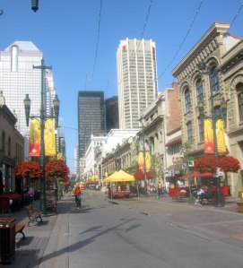 Stephen Avenue - Calgary