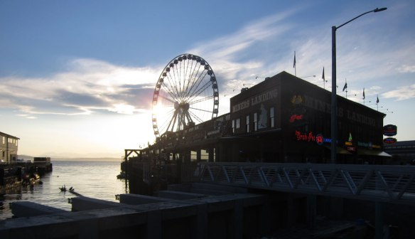 Seattle Wheel and Waterfront