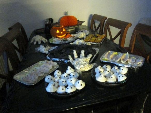 La tavola di Halloween