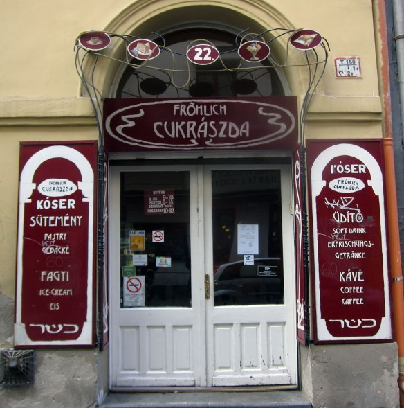 Fröhlich Kóser Cukrászda - Budapest
