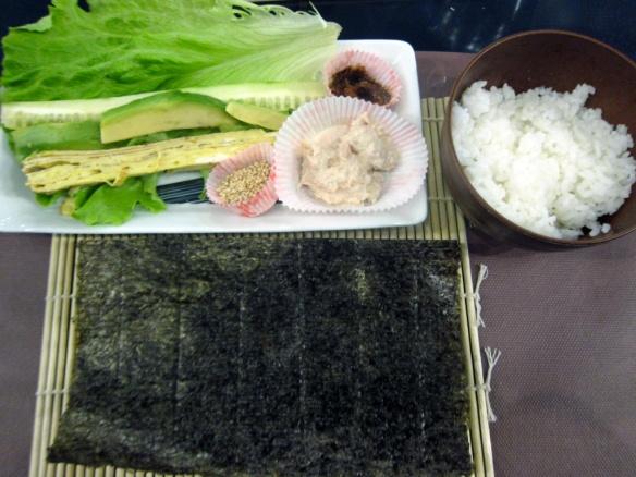 Ehoumaki ingredienti