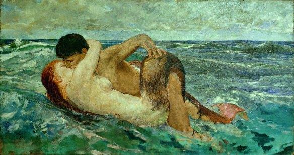 Tritone e Nereide - Max Klinger, 1895