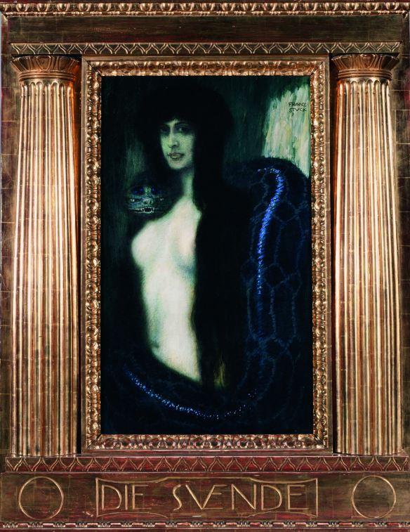 Il Peccato - Franz Von Stuck, 1908