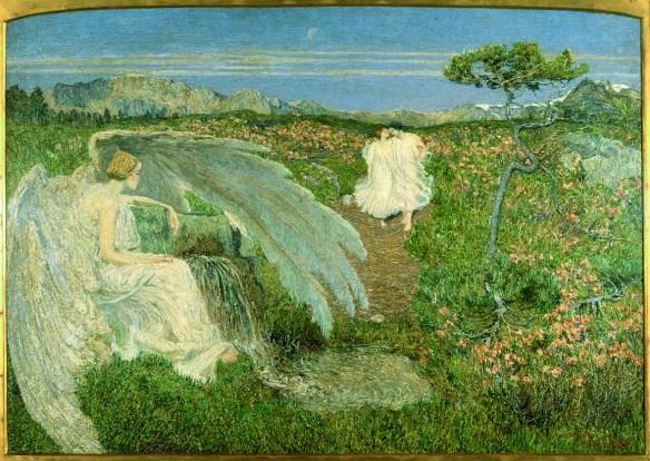 L'amore alle fonti della vita - G. Segantini, 1896