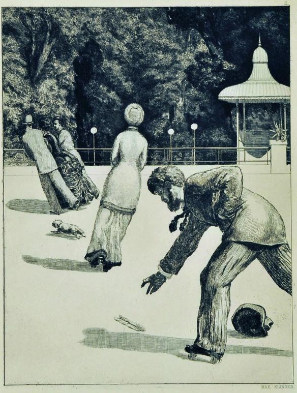 Azione, da Un Guanto - Max Klinger, 1881