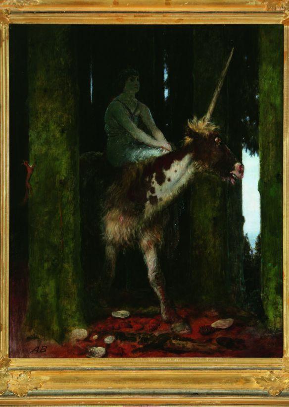 Il silenzio della foresta - Böcklin, 1885