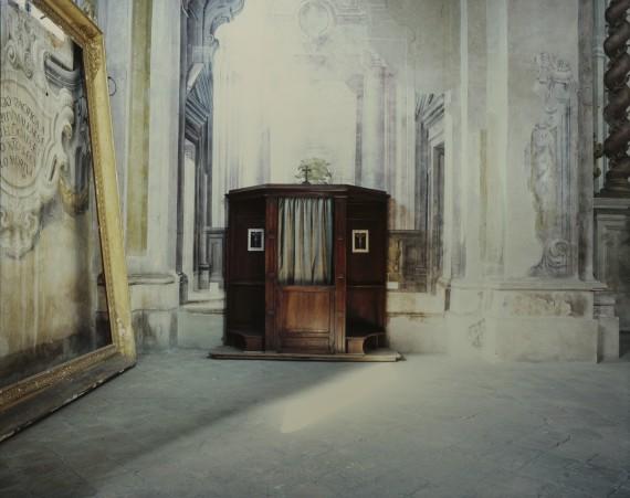 Luigi Ghirri - Certosa di Parma, Interno Italiano, Fuori Salone 2016