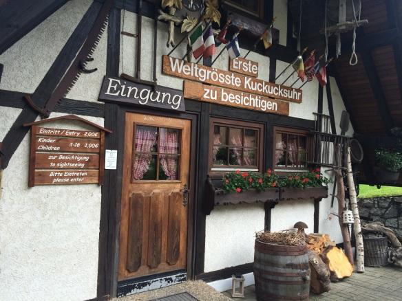 Kuckucksuhr Schonach - Triberg, Foresta Nera