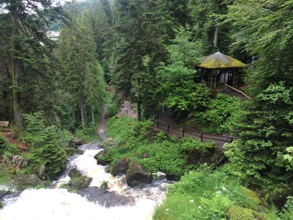 Wasserfälle in Triberg - Foresta Nera