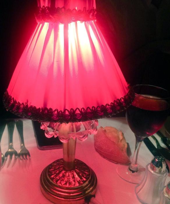 Moulin Rouge, dettagli tavola