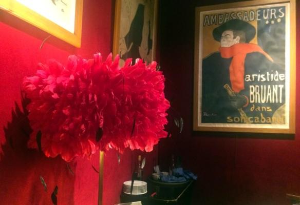 Moulin Rouge, dettagli foyer