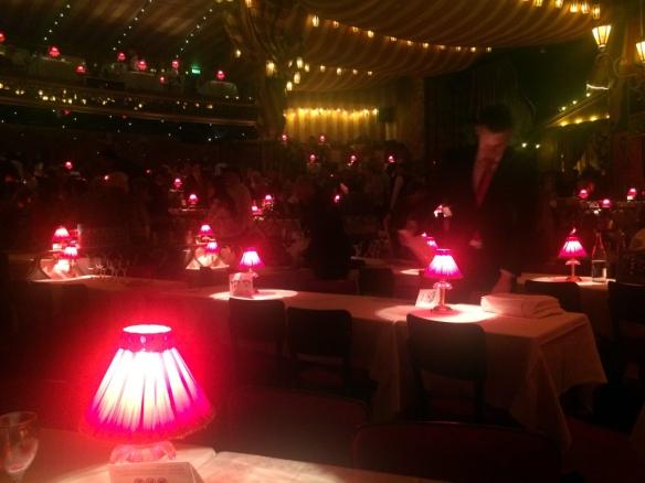 Moulin Rouge, sala