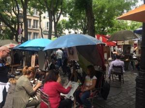 Place du Tertre, Montmartre - Paris
