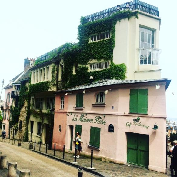 La Maison Rose, Montmartre - Parigi