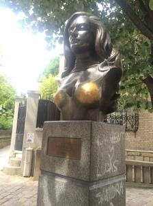 Busto di Dalida, Montmartre - Parigi