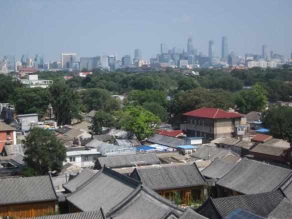 Pechino dalla Drums Tower - Beijing