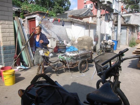 Vita negli hutong intorno alla zona della Drums Tower - Beijing