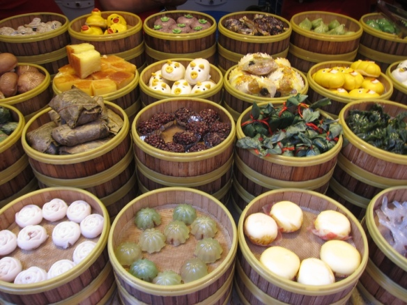 Dolci tipici a Tiánzîfáng - Shanghai