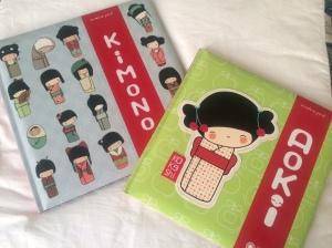 Aoki e Kimono di Annelore Parot