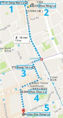 UnTour - Tour Enogastronomico in 6 tappe, Shanghai