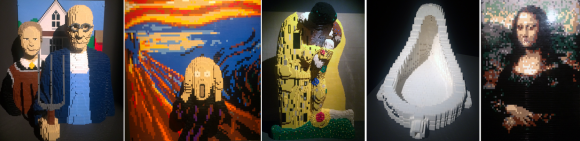 Masters of Past, Nathan Sawaya - The art of the Brick, Milano