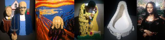 Masters of Past, Nathan Sawaya - The art of the Brick, Milano