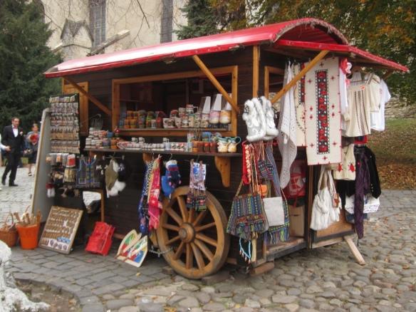 Biertan - Venditori ambulanti locali