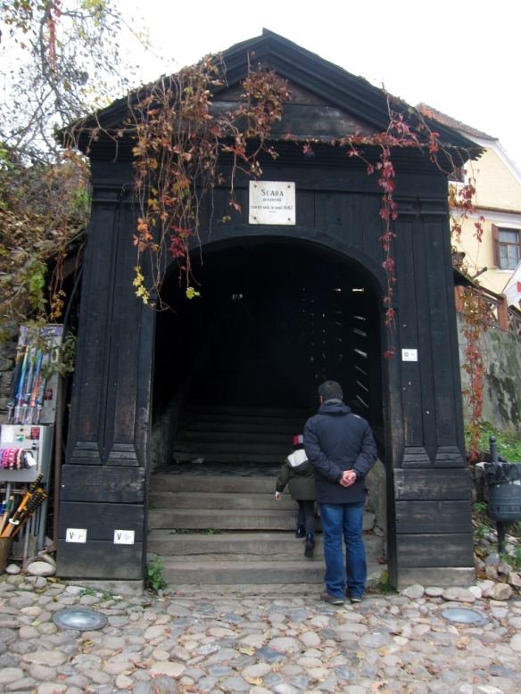 Sighisoara - Passaggio per la Chiesa della Collina