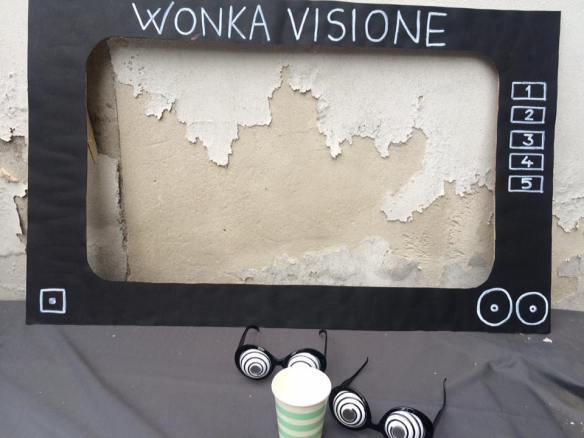 Festa a tema: Willy Wonka e la fabbrica di cioccolato
