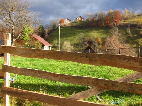 Transilvania - Bran, paesaggio