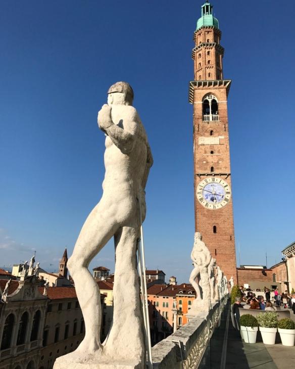 Vicenza - Basilica Palladiana, Terrazza