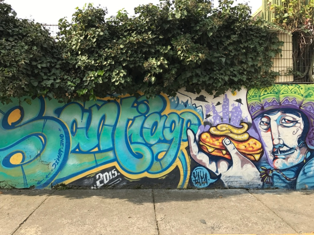 Murales a Santiago del Chile