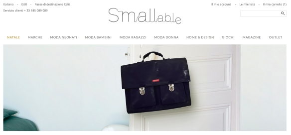 Smallable shopping online